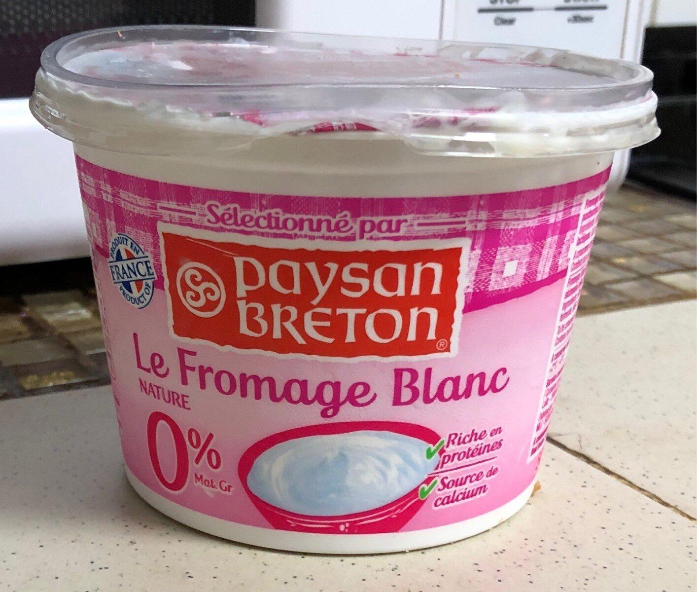 Fromage blanc 0% - Produit - fr