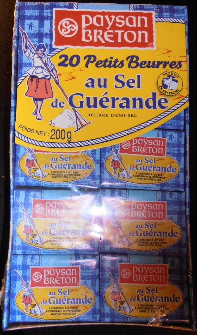 20 Petits Beurres au Sel de Guérande (80 % MG) - Produit