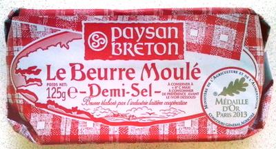 Le Beurre Moulé Demi-Sel (80 % MG) - Product