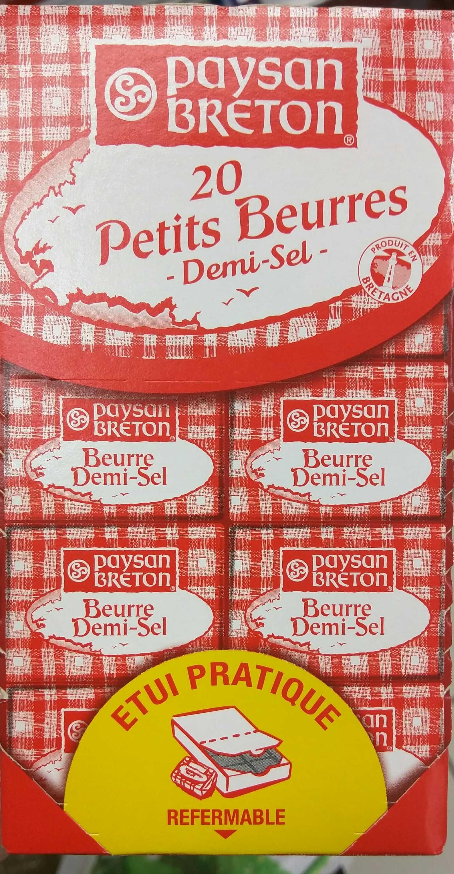 Petits Beurres Demi-Sel - Product - fr