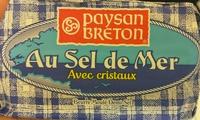 Beurre Moulé Demi-Sel Au Sel de Mer Avec Cristaux - Produit - fr