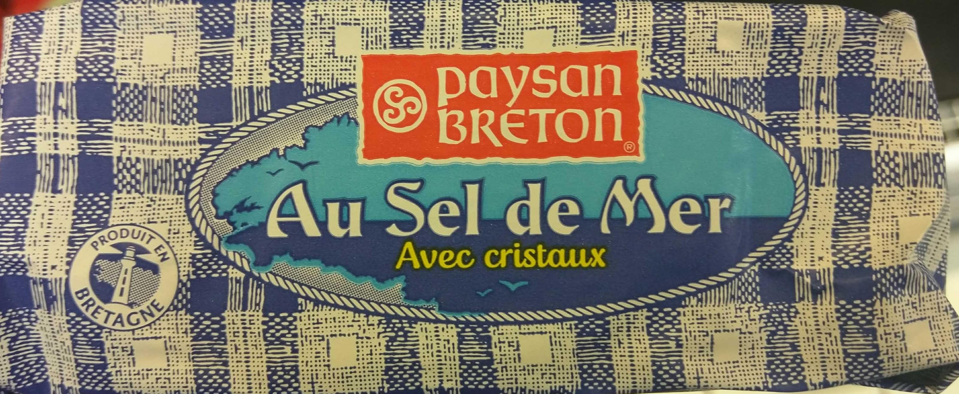 Beurre Moulé Demi-Sel Au Sel de Mer Avec Cristaux - Informations nutritionnelles - fr