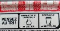Le Beurrier Demi-Sel - Recycling instructions and/or packaging information - fr
