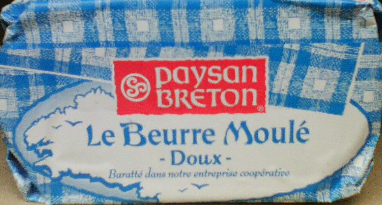 Le Beurre Moulé Doux (82 % MG) - Produit - fr