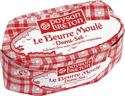 Beurre moulé demi-sel - Produit - fr