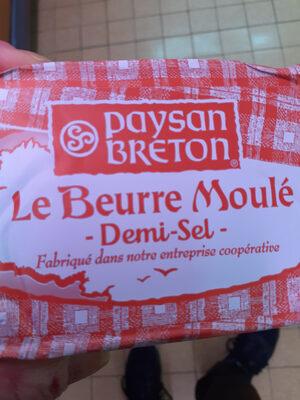 Le beurre moulé demi sel - Product - fr
