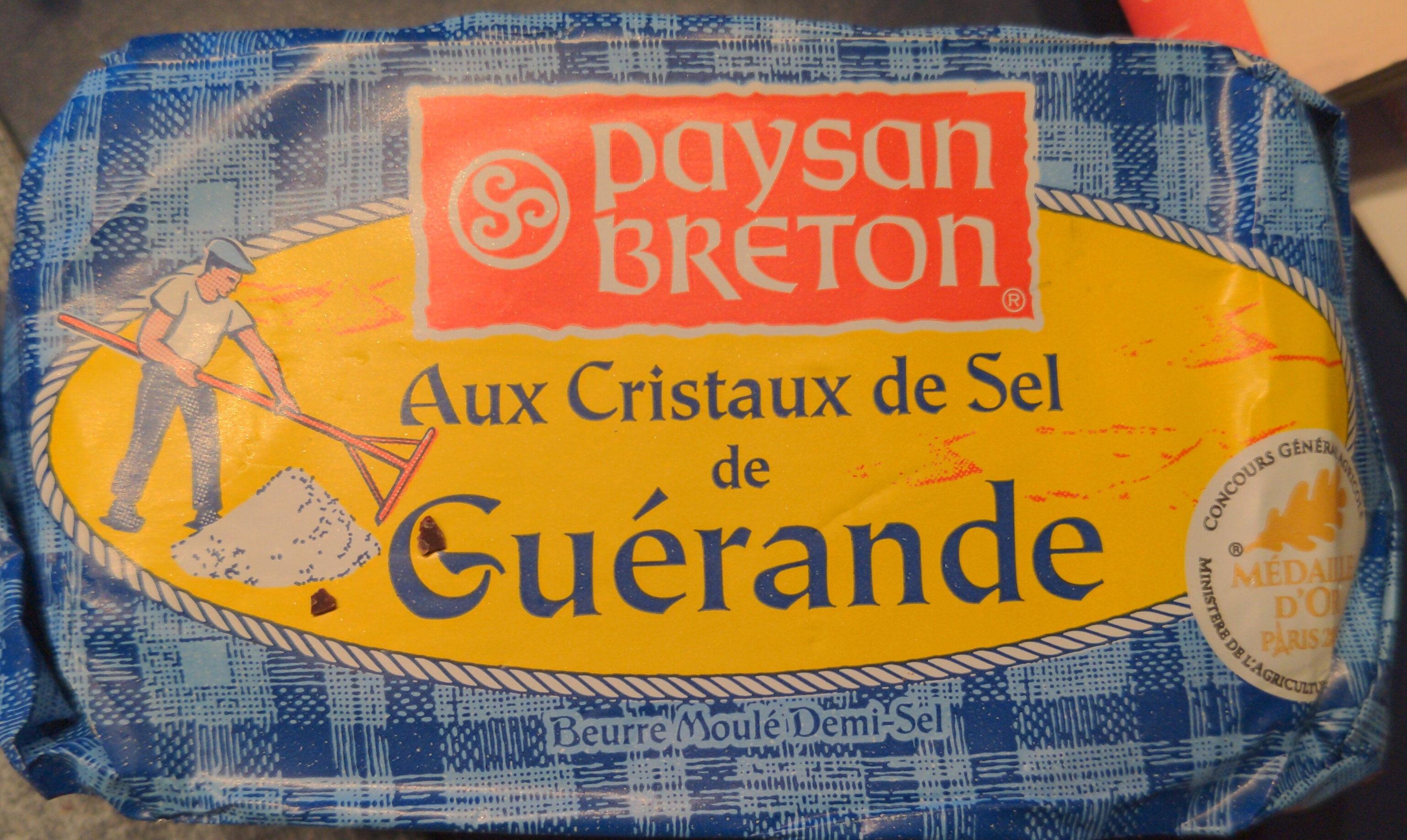 Beurre Aux Cristaux de Sel de Guérande - Produit - fr