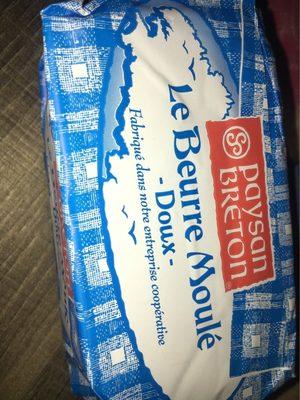Paysan Breton Le Beurre Moulé doux les 2 plaquettes de 250 g - Produit - fr