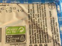 Paysan Breton Le Beurre Moulé doux les 2 plaquettes de 250 g - Ingrédients - fr