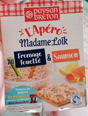 Madame loïc au saumon L'apero - Produit - fr