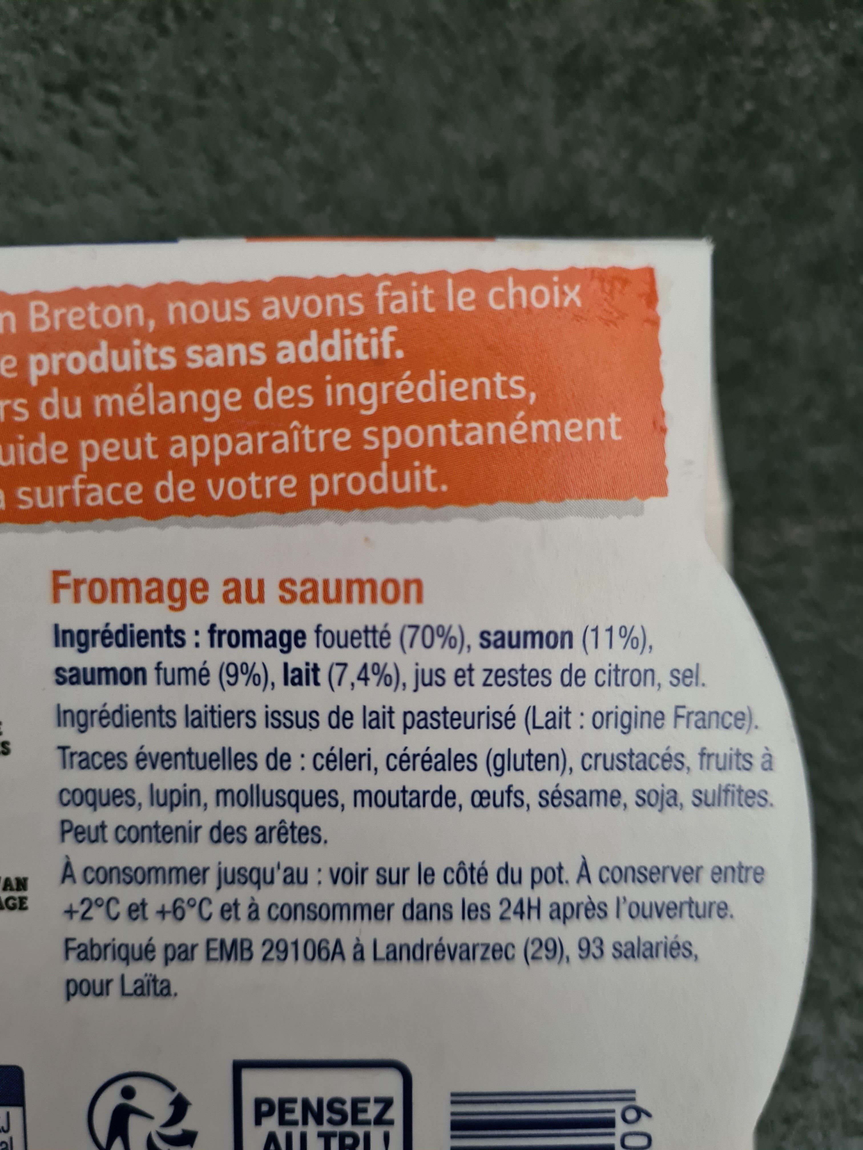 Madame loïc au saumon L'apero - Ingrédients - fr