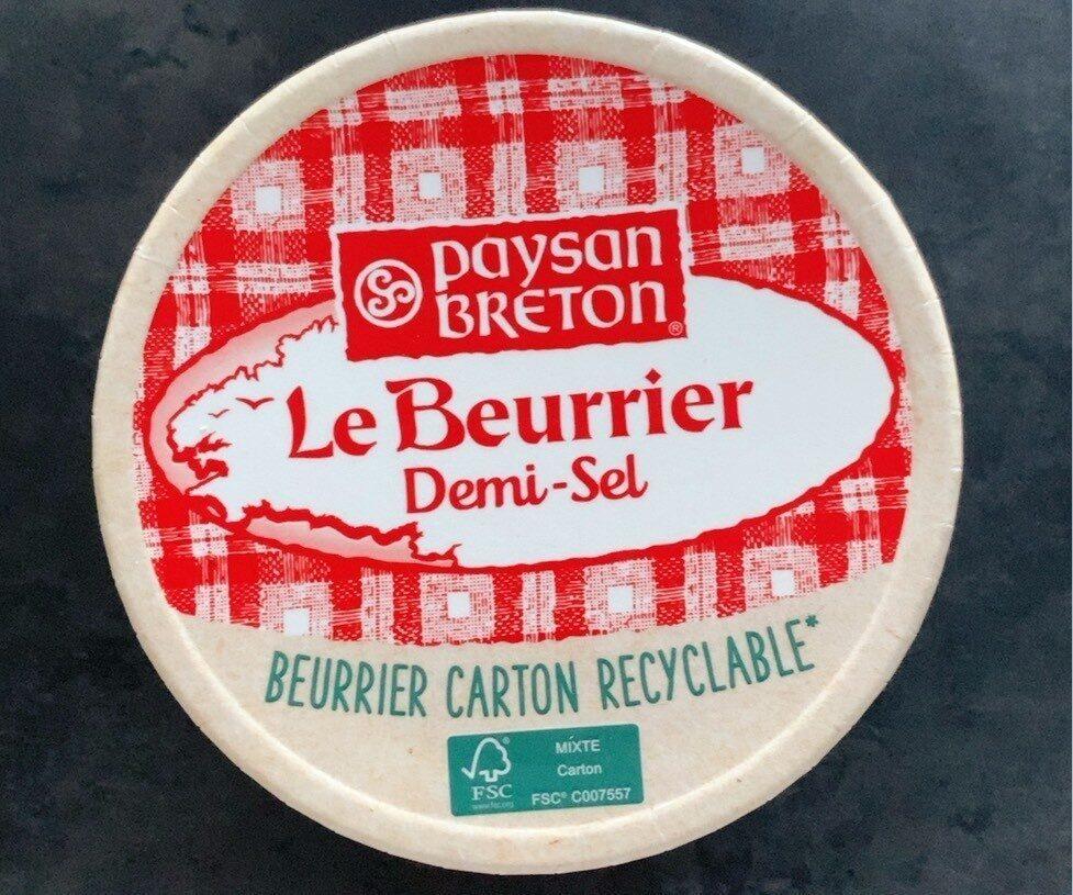 Le Beurrier Demi-Sel - Produit - fr