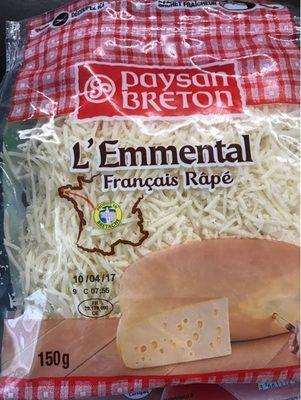 L'Emmental Francais Rapé - Produit - fr