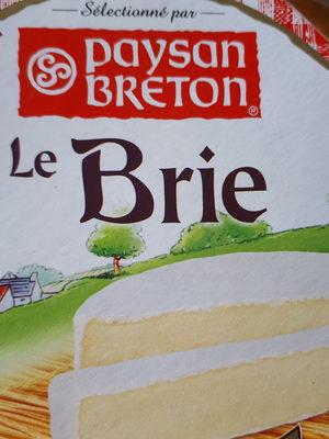 Queso Le Brie Paysan Breton - Produit - fr