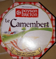 Le Camembert Soft & Creamy Cheese - Produit - fr