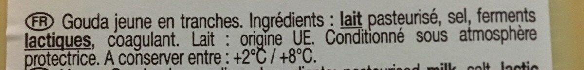 Le Gouda - Ingrediënten - fr