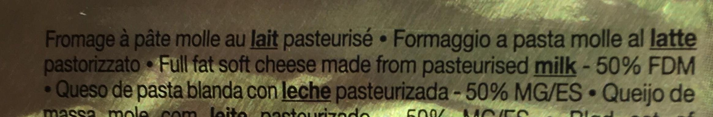 Le Brie au lait pasteurisé - Ingredients - fr