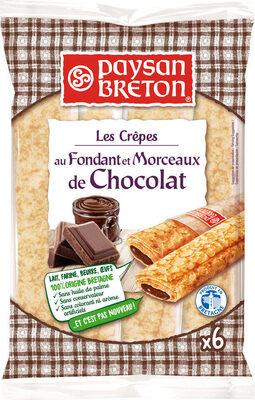 Crêpes fourrées au chocolat - Produit - fr