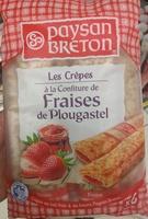 Crêpes à la Confiture de Fraises de Gariguette - Produit - fr