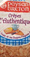 Crêpes l'authentique - Produit - fr