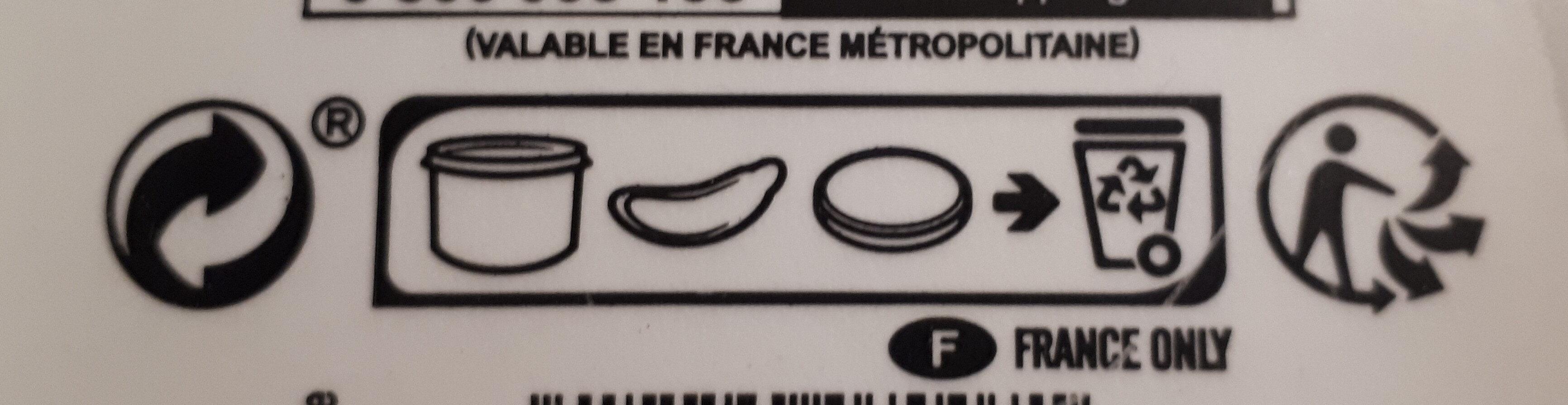 Madame Loïk - Instruction de recyclage et/ou information d'emballage - fr