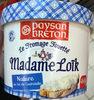 Le Fromage Fouetté Madame Loïk Nature au sel de Guérande - Producto