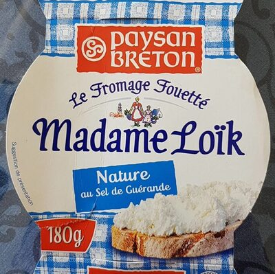 Fromage fouetté Madame Loïk - Product - fr