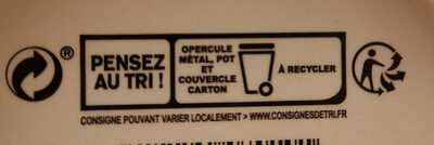 Fromage fouetté Madame Loïk - Recycling instructions and/or packaging information - fr