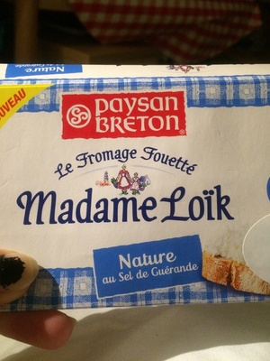 Le Fromage Fouetté Madame Loïk Nature - Produit - fr