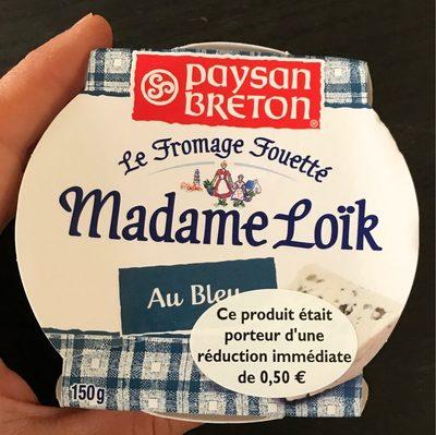 Fromage fouetté au bleu Les Recettes de Madame Loïc - Produit - fr