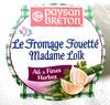 Le Fromage Fouetté Madame Loïk Ail & Fines Herbes (23 % MG)  - Produit