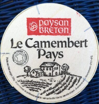 Le camembert pays - Product - fr