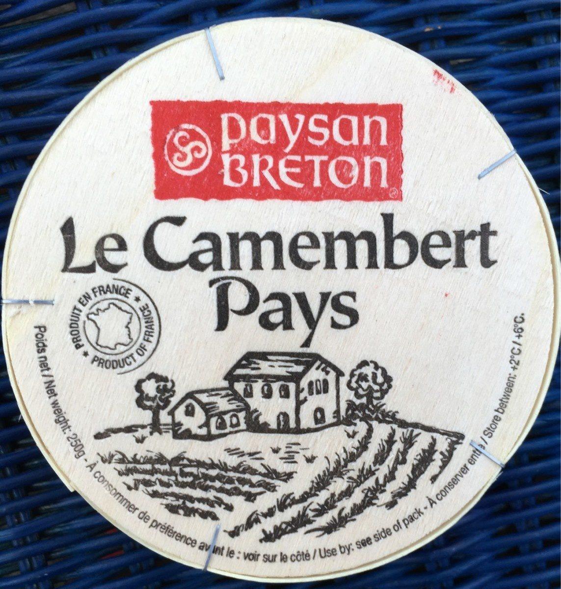 Le camembert pays - Produit - fr