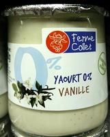 Yaourt 0% vanille - Produit