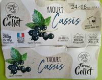 Yaourt Cassis - Produit - fr