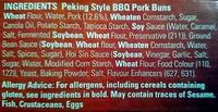 Peking Style BBQ Pork Buns - Ingredients - en
