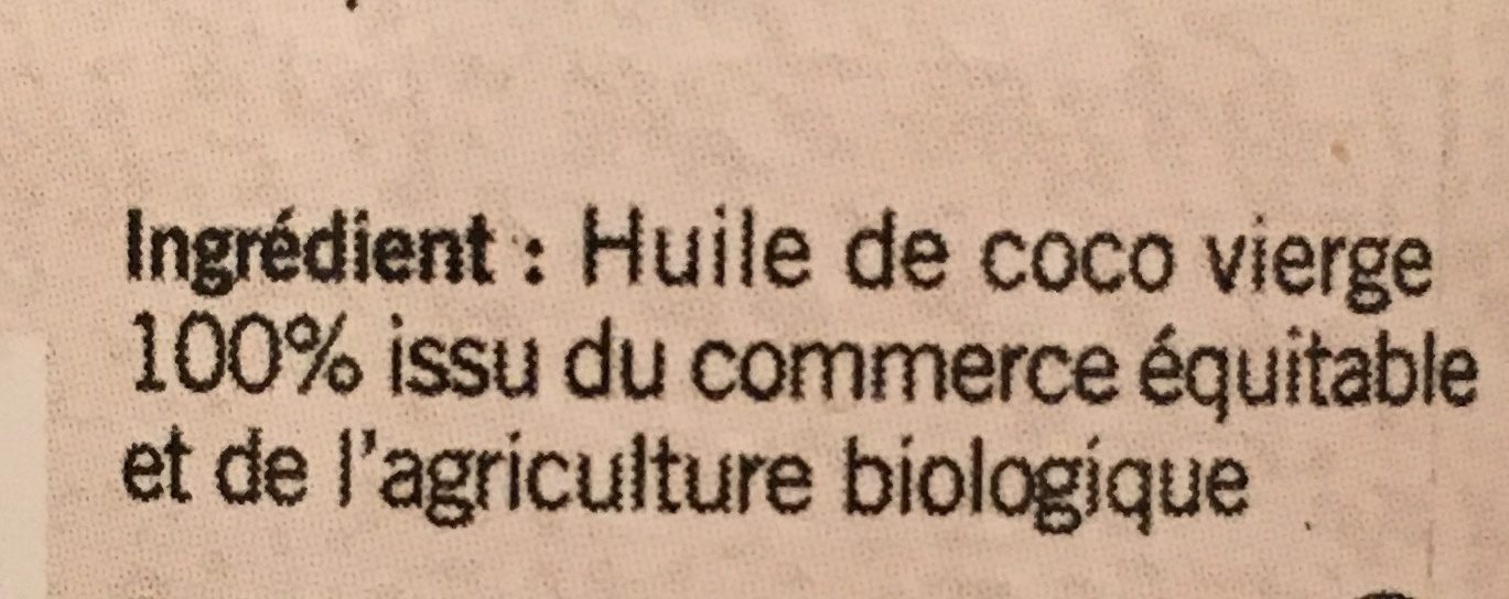Huile de coco - Ingrediënten - fr