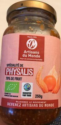Spécialité de Physalis 79% de fruit - Product - fr
