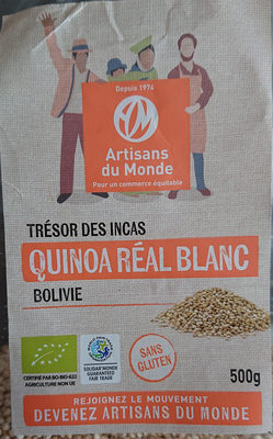 Quinoa real blanc - Product - fr