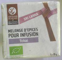 Mélange d'Épices Pour Infusion Tchaï - Product - fr