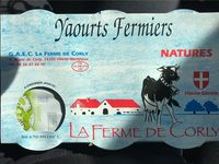 Yaourts fermiers natures - Product