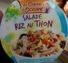 Salade riz au thon - Produit