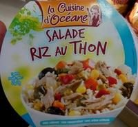 Salade riz au thon - Produit - fr