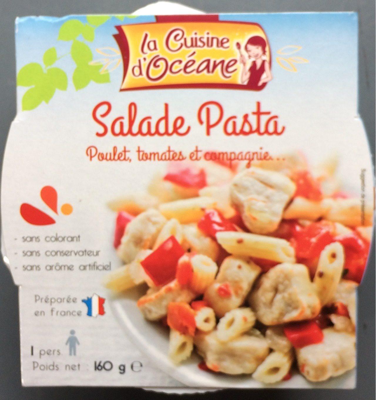 Salade Pasta. Poulet, tomates et compagnie... - La Cuisine