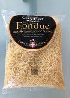 fromage râpé pour Fondue aux 4 fromages de Savoie - Produit - fr