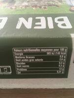 12 oeufs frais Label Rouge - Nutrition facts - fr