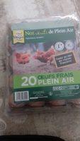 20 Oeufs frais plein air - Product - fr