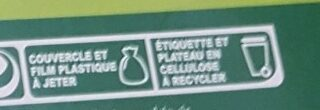 20 Oeufs frais plein air - Recycling instructions and/or packaging information - fr