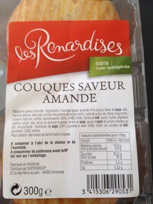 Couques Saveur Amande Renardises 300 G - Produit - fr