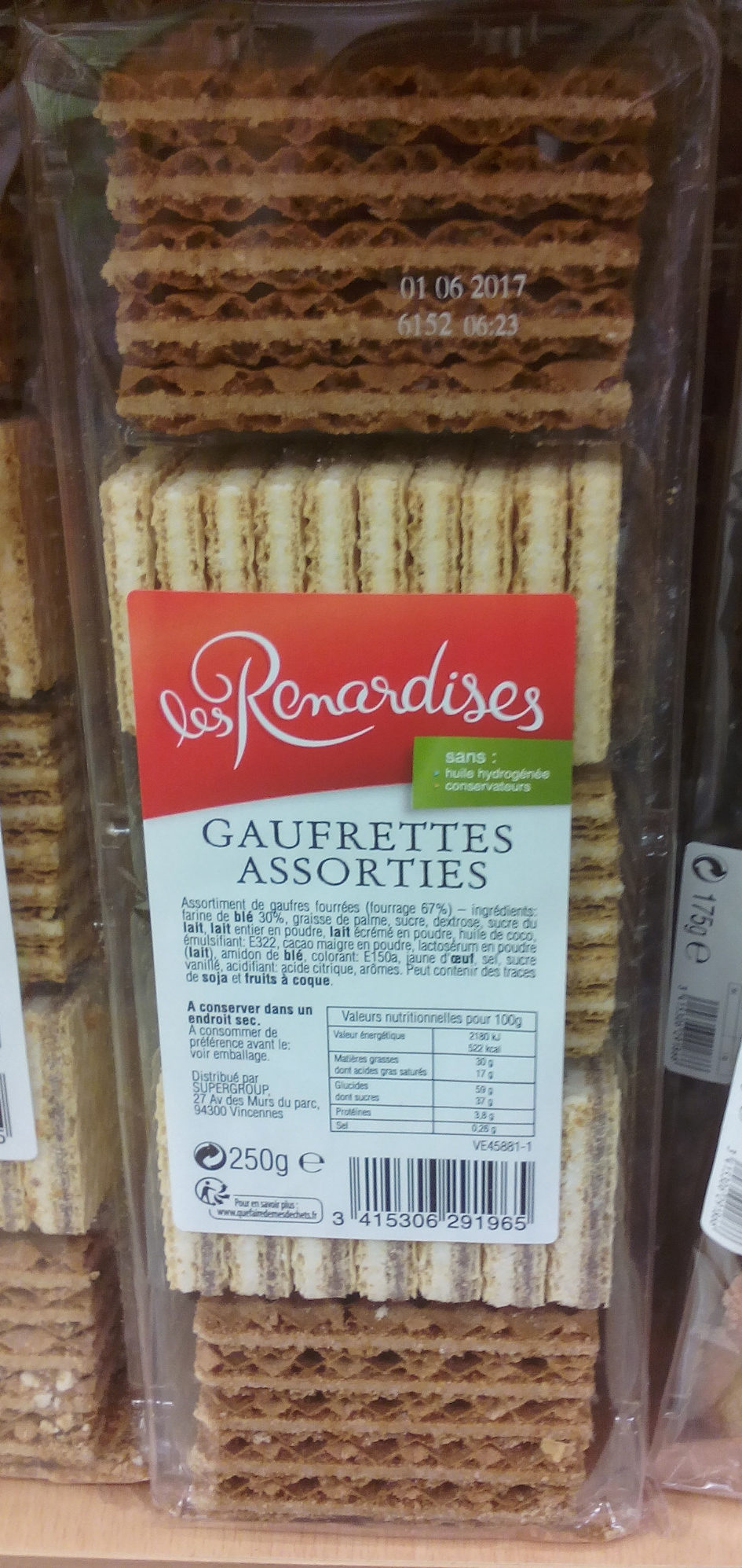 Gaufrettes Assorties - Product - fr
